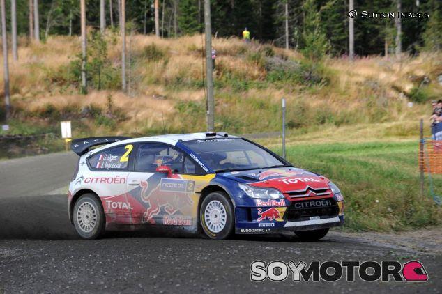 Sébastien Ogier y Julien Ingrassia con el Citroën C4 WRC - SoyMotor.com