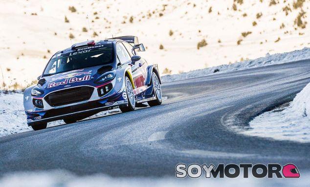 Sébastien Ogier en el Rally de Montecarlo - SoyMotor