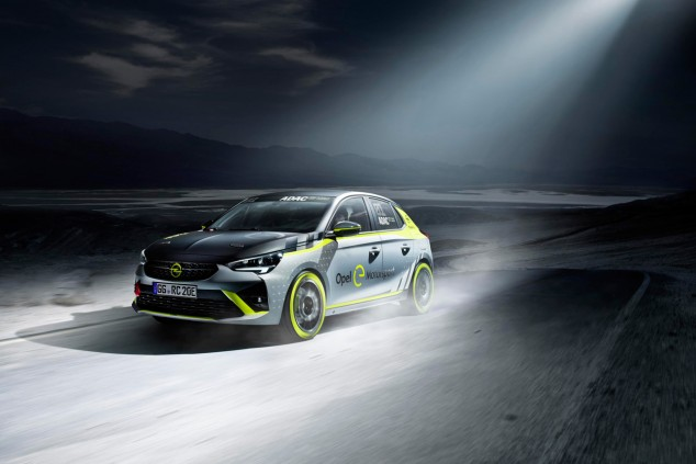 La Opel Corsa e-Rally Cup, a punto - SoyMotor.com