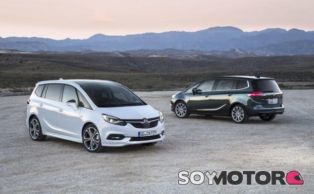 El Opel Zafira renueva su imagen y equipamiento, pero manteniendo su gran versatilidad - SoyMotor
