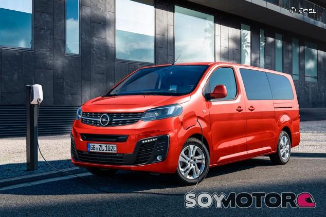Opel Zafira-e Life - SoyMotor.com