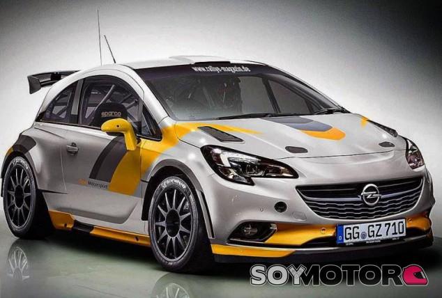 Opel Corsa R5 - SoyMotor.com