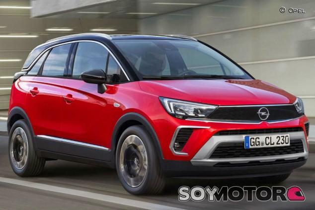 Opel Crossland 2021: actualización con aroma de Mokka - SoyMotor.com