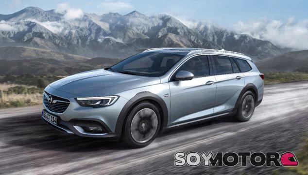 El Nuevo Opel Insignia Country Tourer será presentado de forma oficial en el Salón de Frankfurt, en septiembre - SoyMotor