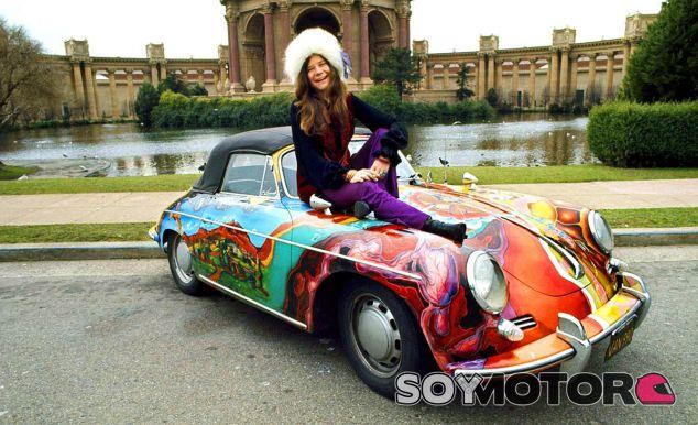 Janis Joplin sobre su querido Porsche 356 - SoyMotor