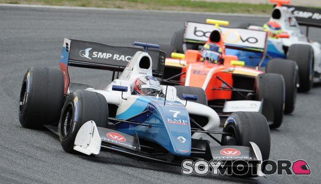 Orudzhev no da opciones en Barcelona y gana la primera carrera de la Fórmula V8 3.5 - Soymotor.com