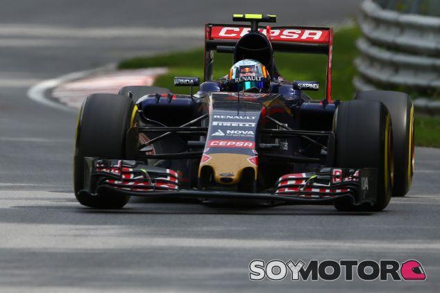 Carlos Sainz durante el Gran Premio de Canadá 2015 - LaF1