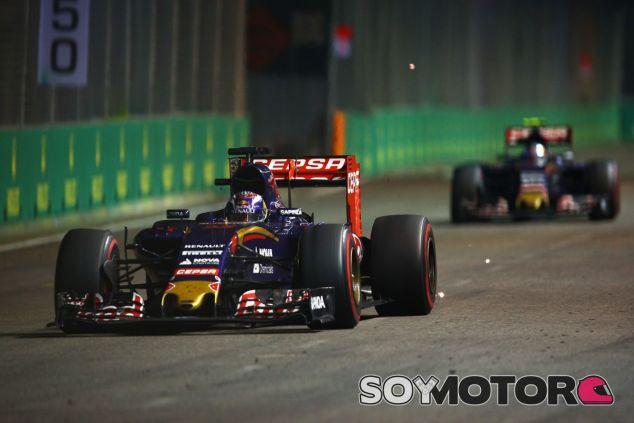 Polémica entre los dos pilotos de Toro Rosso - LaF1