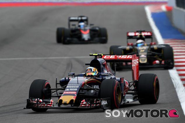 Sainz abandona en el GP de Rusia - LaF1
