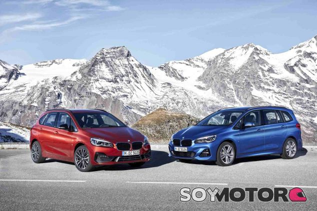 BMW Serie 2 Active Tourer y Serie 2 Gran Tourer 2018 - SoyMotor.com