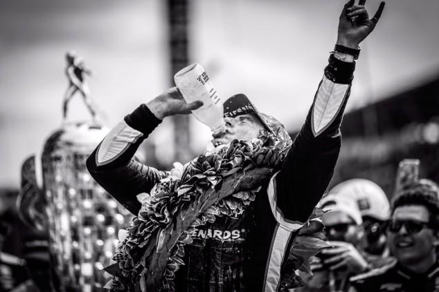 """Pagenaud, ganador de las 500 Millas de Indianápolis: """"La leche me motivó"""" - SoyMotor.com"""