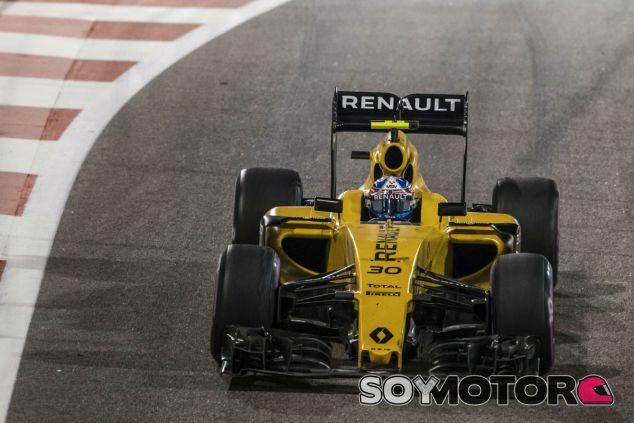 Palmer durante el GP de Abu Dabi - SoyMotor