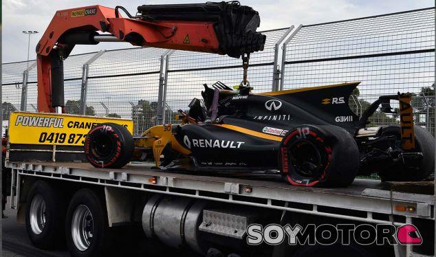 Palmer pide a Renault que revise a fondo su RS17 para China - SoyMotor.com