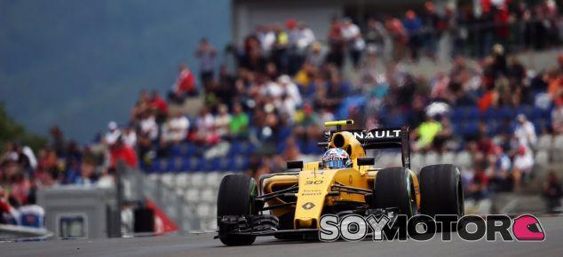 Palmer durante el GP de Austria - SoyMotor
