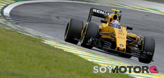 Palmer, durante el GP de Brasil - LaF1