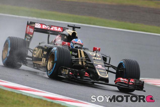 Jolyon Palmer durante los entrenamientos libres del GP de Japón - LaF1