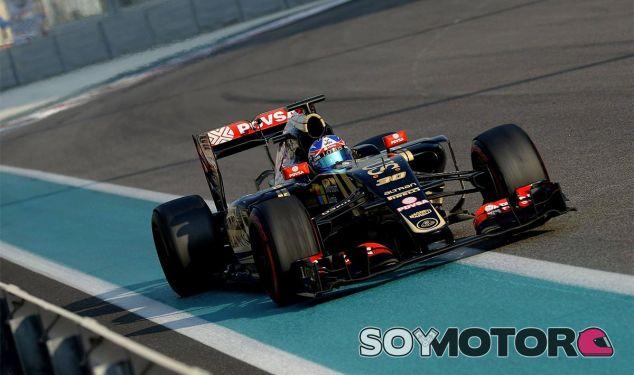Jolyon Palmer en Abu Dabi - LaF1