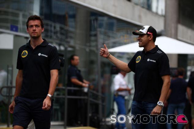 En un principio, los asientos de Palmer y Maldonado en Lotus no corren peligro - LaF1