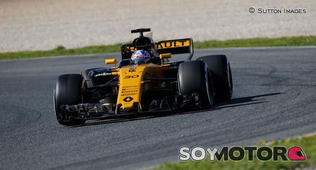 Jolyon Palmer en Barcelona - SoyMotor