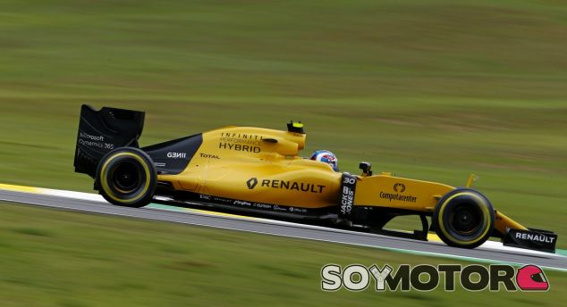 Palmer, durante un GP esta temporada - LaF1