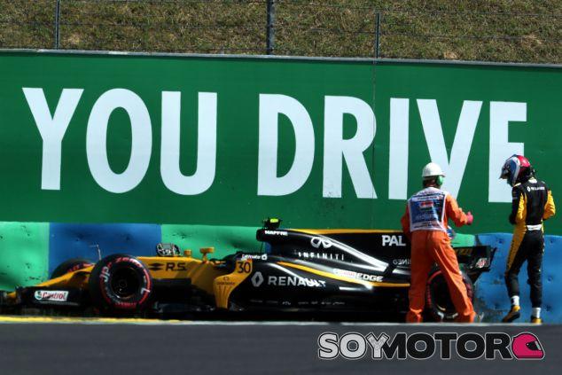 Renault en el GP de Hungría F1 2017: Viernes - SoyMotor.com