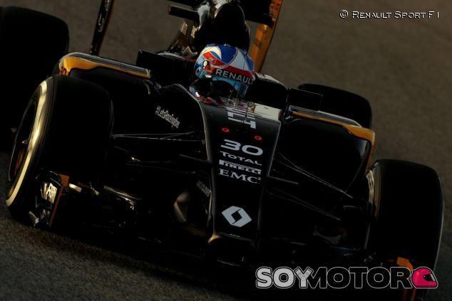 Jolyon Palmer en los test del Circuit de Barcelona-Catalunya - LaF1