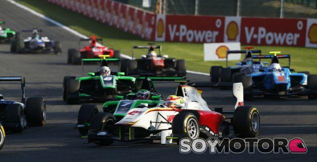Alex Palou en la salida de Spa-Francorchamps - LaF1