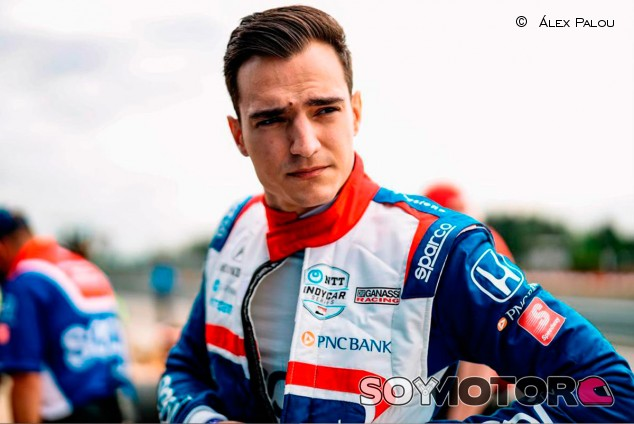 Alex Palou, a confirmar sus aspiraciones en St. Petersburg  - SoyMotor.com