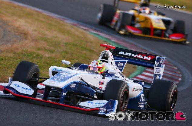 Álex Palou en Suzuka en el test del año pasado - SoyMotor.com
