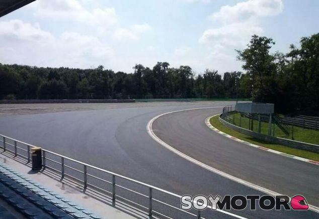 El asfaltado de la escapatoria de La Parabólica en Monza fue muy criticado - LaF1