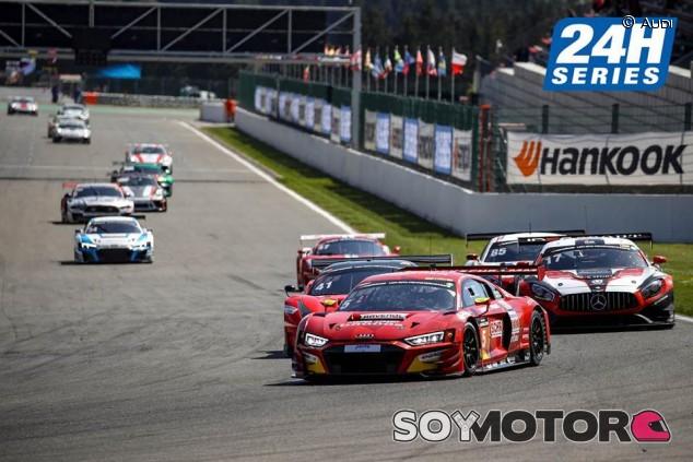 Iván Pareras, tercero en las 12 Horas de Spa - SoyMotor.com