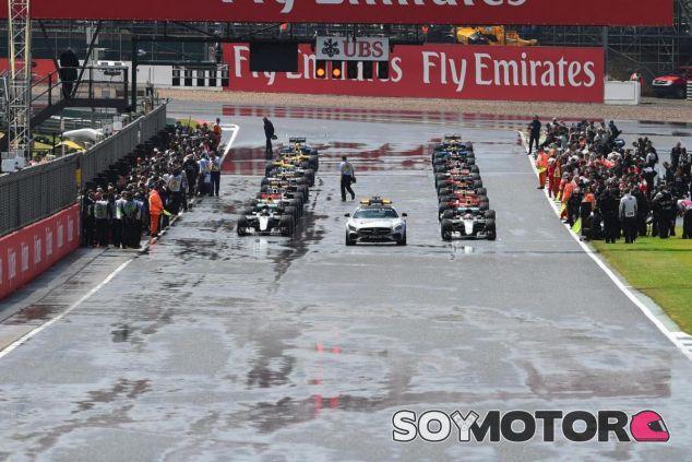 Parrilla de salida del GP de Gran Bretaña de 2016 - SoyMotor