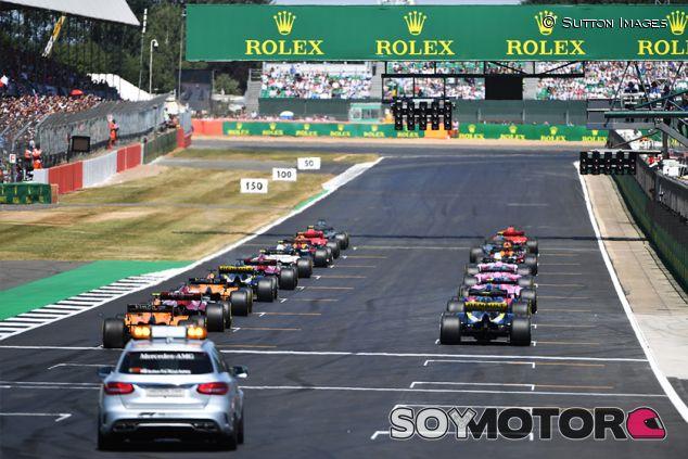 Parrilla de Fórmula 1 en Silverstone - SoyMotor.com