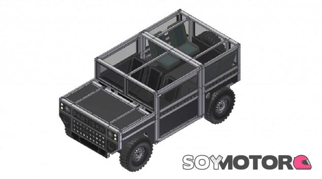 Partisan Maulwurf: el coche para la mina- SoyMotor.com