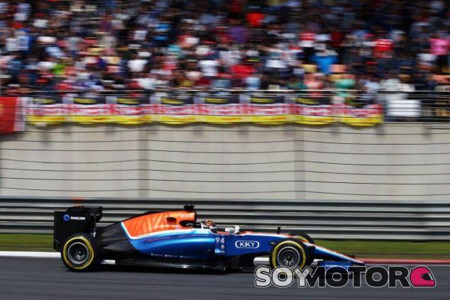 Wehrlein está consiguiendo buenos resultados para Manor - LaF1