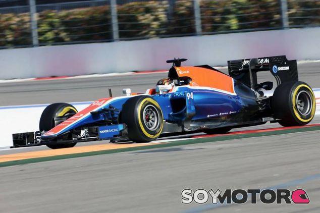 Pascal Wehrlein en el Gran Premio de Rusia - LaF1