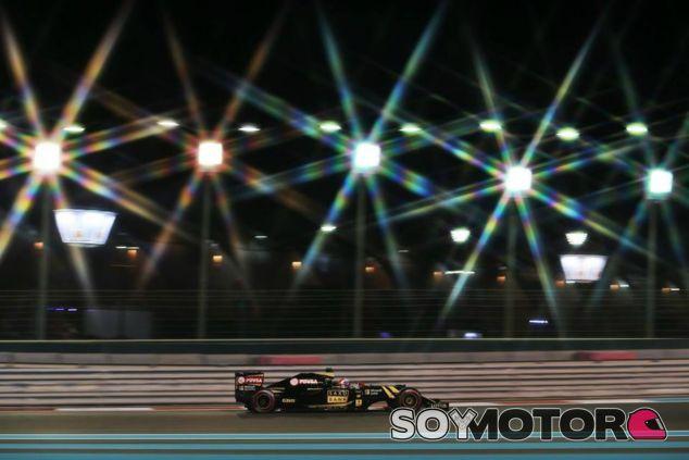 Maldonado 13º y Grosjean se queda parado en Q2 - LaF1