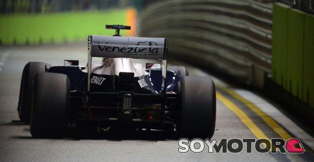 Pastor Maldonado en el GP de Singapur F1 2013 - LaF1