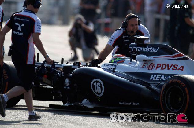 Maldonado, sobre los nuevos neumáticos: ''Necesitamos ver qué ocurre en Hungría''