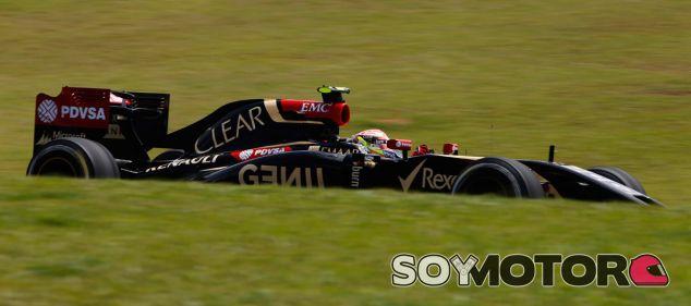 Lotus en el GP de Brasil F1 2014: Viernes