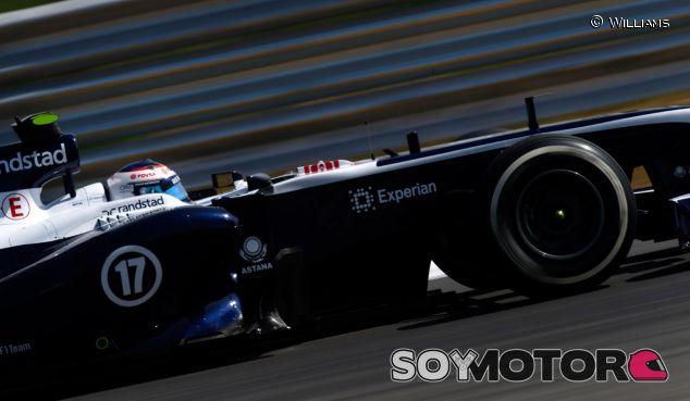 Pastor Maldonado y su FW35 en Corea - LaF1