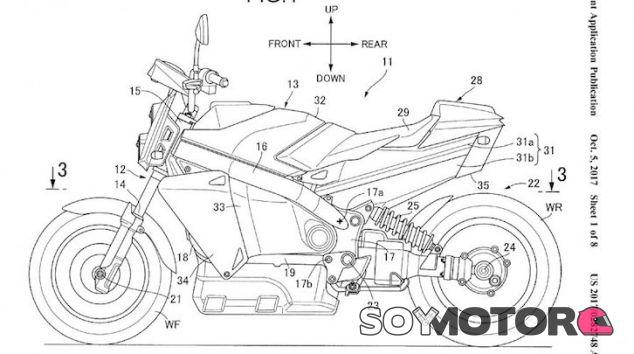 honda ha patentado una moto con pila de hidr u00f3geno