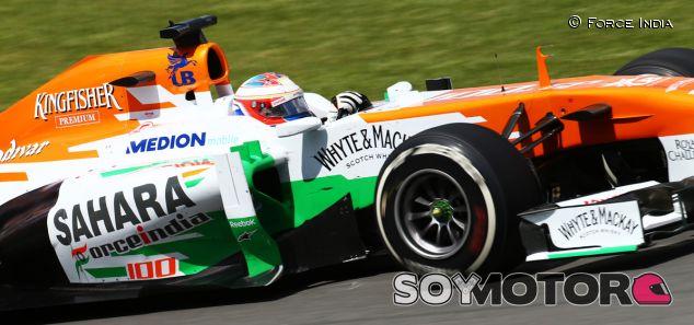 Paul di Resta con el Force India VJM06