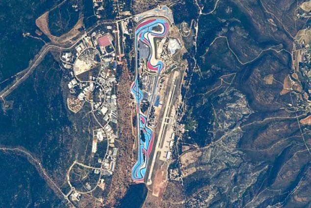 Un astronauta fotografía circuitos de F1 desde el espacio - SoyMotor.com