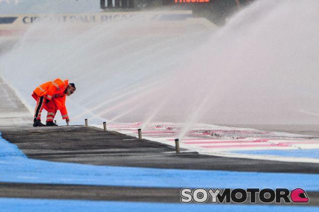Aspersores en el circuito de Paul Ricard –SoyMotor.com