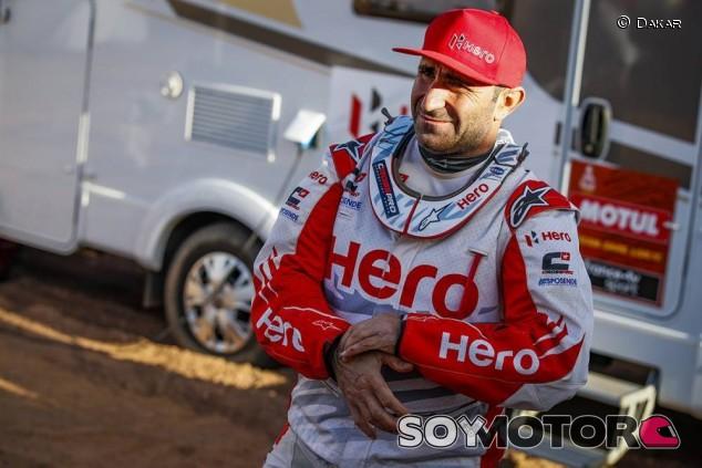 Paulo Gonçalves en el Dakar 2020 - SoyMotor.com