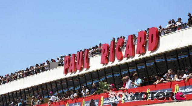 Gradas del circuito Paul Ricard - LaF1