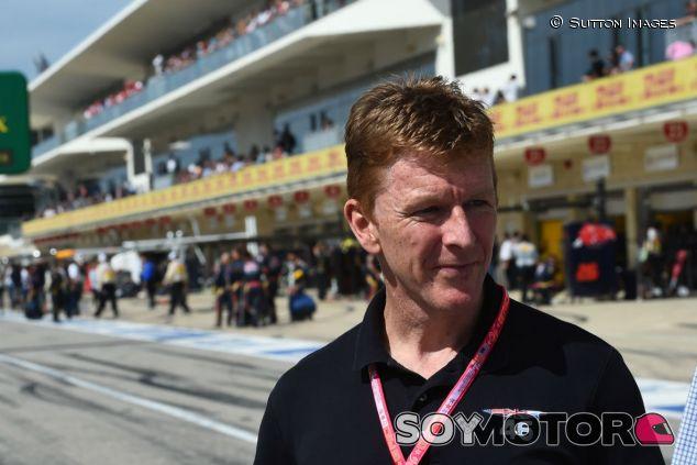 Peake durante un GP en 2016 - SoyMotor.com