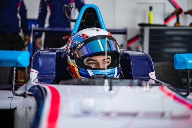 Primer podio de Pepe Martí en la F4 EAU - SoyMotor.com