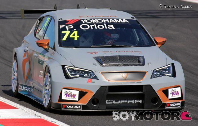 Pepe Oriola, Filippi y los Cupra TCR de Campos Racing, protagonistas de los test en Barcelona - SoyMotor.com